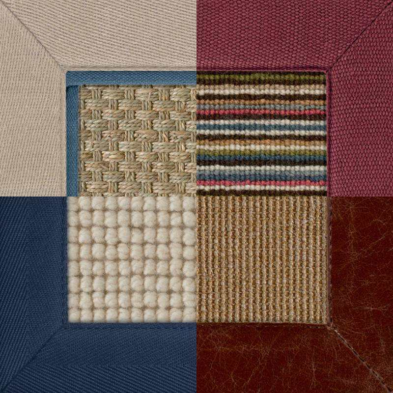 Design your own custom made natural rug